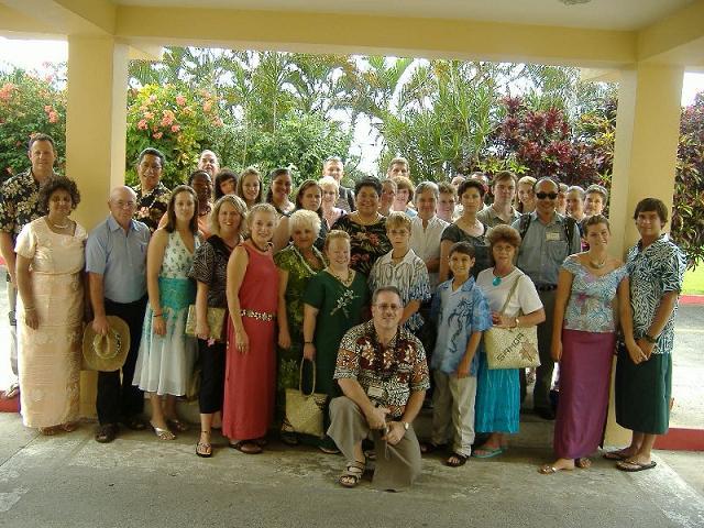2007 Samoa Mission Team