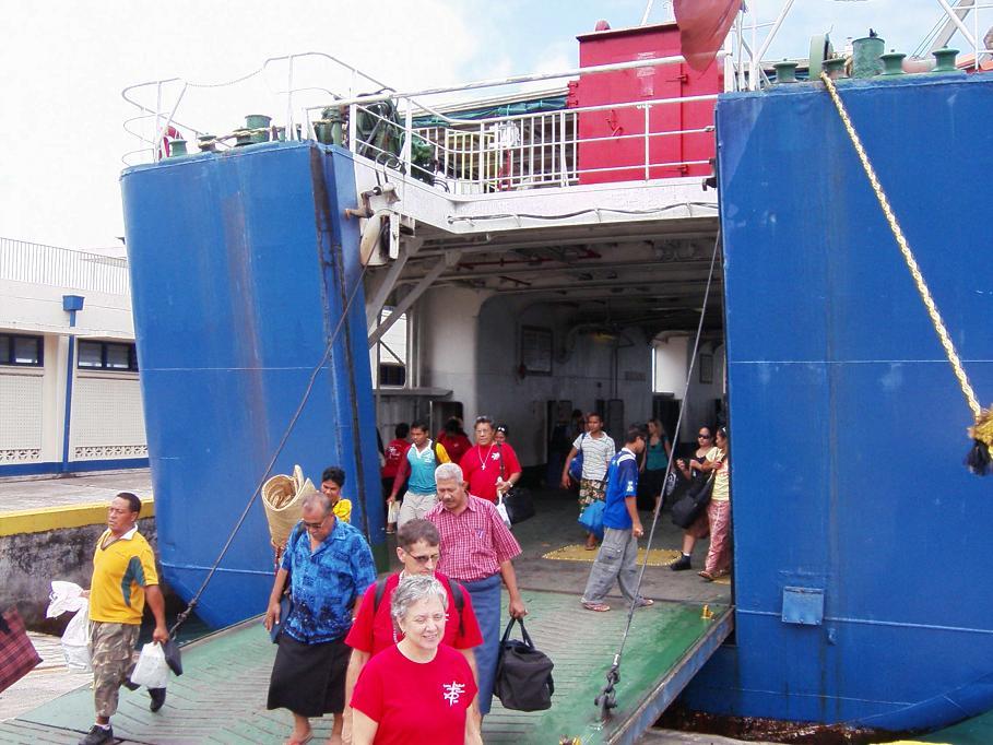 2008 Samoa Mission