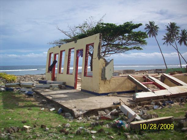 2009 TSUNAMI Relief Mission