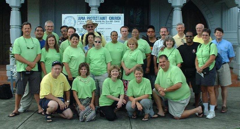 2004 Samoa Team